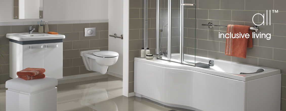 All Bathroom suite wirh Avalon wall hung toilet