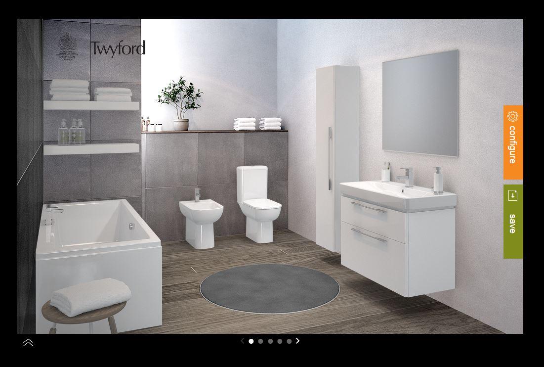 The design room twyford bathrooms for Bathroom design visit