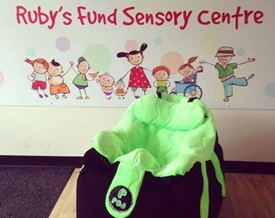 Rubys fund p-pod chair donated bt Twyford