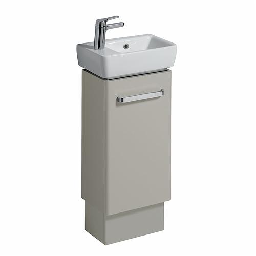 Perfect E100 Plinth For 450mm Cabinet  White Gloss  Bathroom Furniture