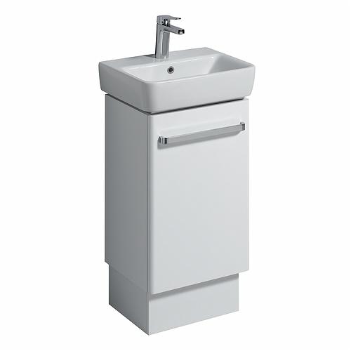 Perfect Plinth For 320 Corner Washbasin Unit  Grey  Bathroom Furniture