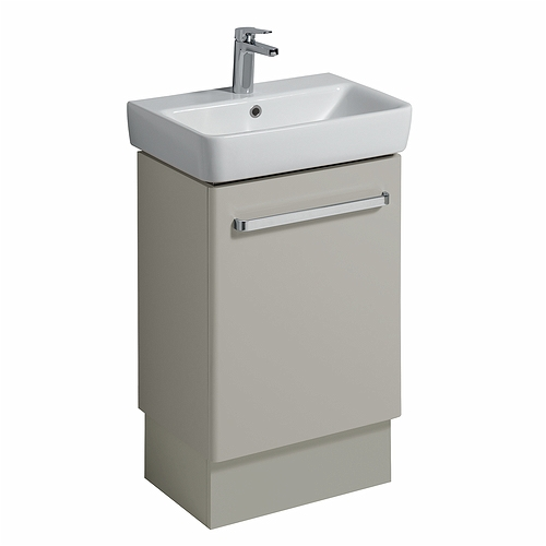 E200 Plinth For 550X370 Washbasin Unit - Grey