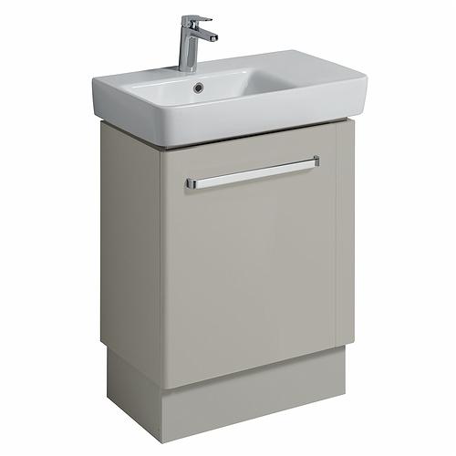 Innovative E100 Plinth For 550mm Cabinet  White Gloss  Bathroom Furniture