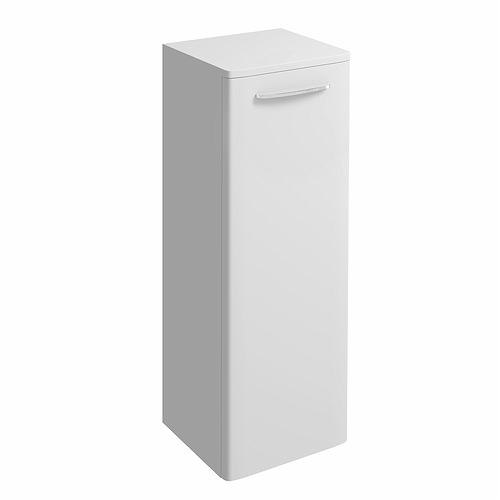 e100 side cabinet large white gloss bathroom furniture twyford