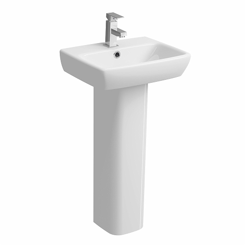E100-Square-450x350mm-Handrinse-Washbasin-1-Tap