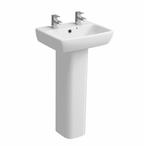 E100-Square-450x350mm-Handrinse-Washbasin-2-Tap