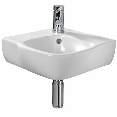 Corner Washbasins : Moda 500 Corner Washbasin 1 Tap