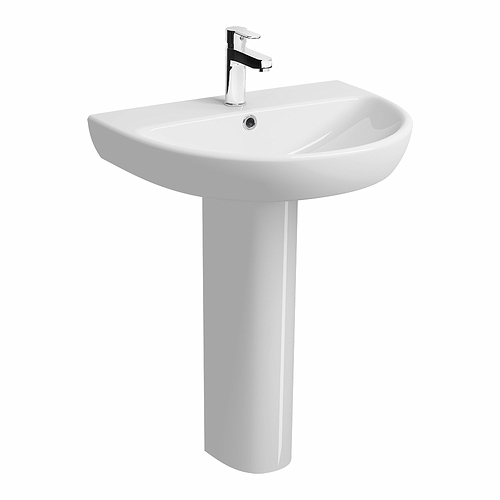 E100-Round-650x500mm-Washbasin-1-Tap