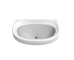 Sola Spectrum Washbasin 500x410 No Tap, Back Outlet, HBN 00-10 Part C Sanitary Appliances/LB H L/M