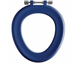 Full Toilet Seat Ring For Sola School 350 Toilet Pan -Blue