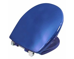 Avalon/Sola Toilet Seat & Cover Top Fix - Blue