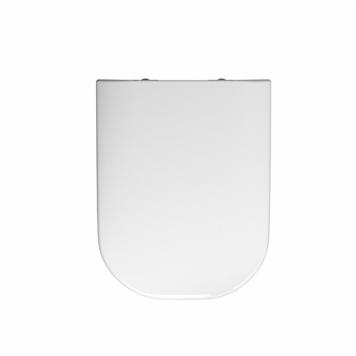e500 square toilet seat and cover top fix standard hinge. Black Bedroom Furniture Sets. Home Design Ideas