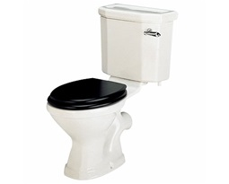 Clarice Close Coupled Toilet Pan,HO