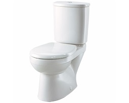 Galerie Close Coupled Toilet Set, Flushwise 4/2.6L (Toilet Pan, Cistern & Seat)