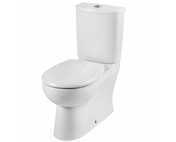 Galerie Close Coupled Toilet Pan, BTW Multioutlet