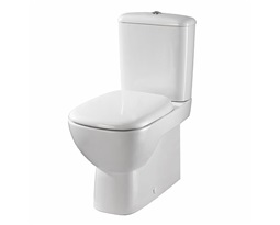 Moda Rimfree Close Coupled Toilet Pan ,Flushwise