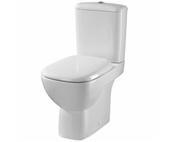 Moda Close Coupled Toilet Pan, Flushwise
