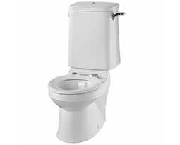 Sola School Rimless 350 Close Coupled Toilet Pan HO