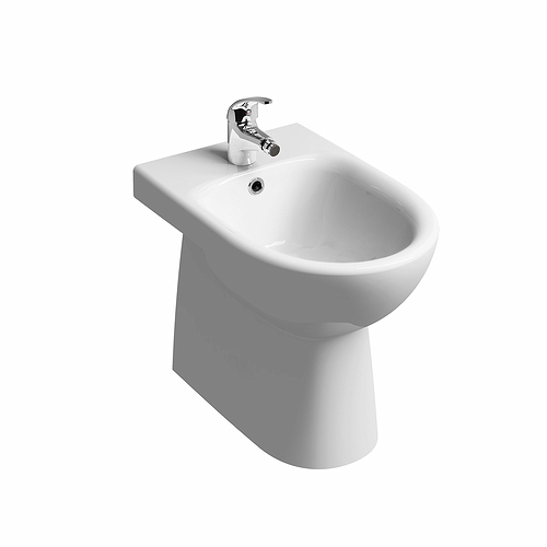 E100-Round-Floor-Standing-Back-to-Wall-Bidet-1T