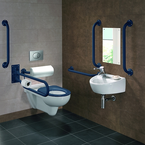 Doc-M-Rimless-Wall-Hung-Pack-Left-Hand-Blue-Grab-Rails-Seat