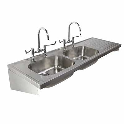 1800 Sink Double Bowl Amp Single Rh Drainer 2t 1800x600