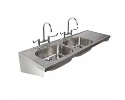 1800 Sink Double Bowl & Single RH Drainer 2T
