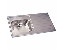 1200 Sink Single Bowl & RH Drain 0T - HTM64 ST A