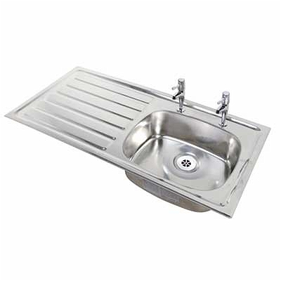 how to clean sink overflow holes