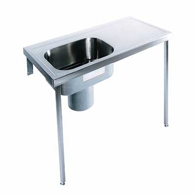 Plaster Sink Right Hand Drainer Left Hand Sink 1200x600