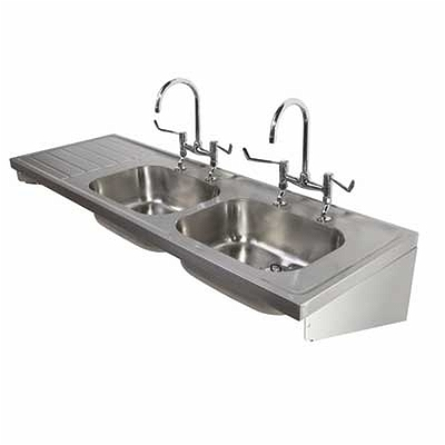 1800 Sink Double Bowl Amp Single Lh Drainer 2t 1800x600