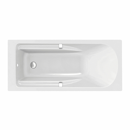 All Rectangular Bath 1700X750 Inc Waste Cover, Grips, 0 Tap