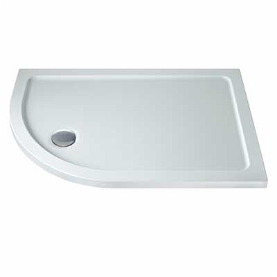 Tray 1200x900 Offset Quadrant LH Flat Top