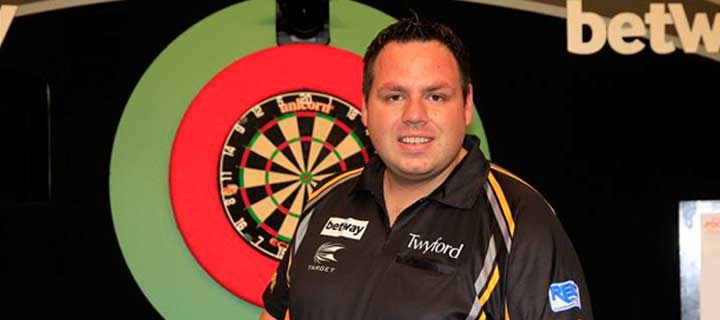 Adrian Lewis world champion darts player