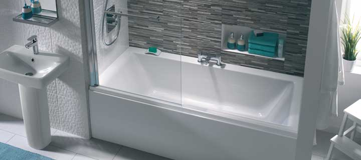 Twyford Athena double ended acrylic bath