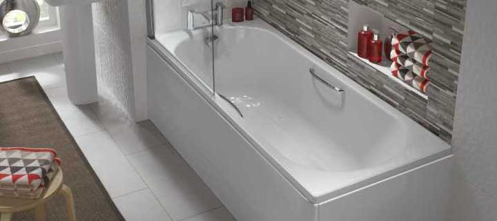 Twyford Opal baths with tread