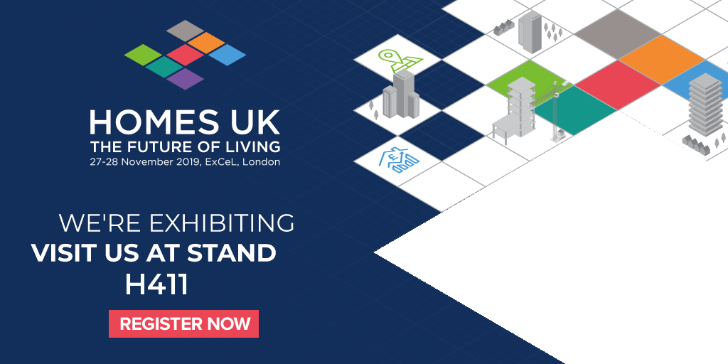 Geberit to attend HOMES UK 2019
