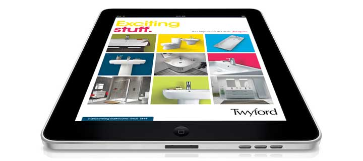 Twyford Bathrooms collections brochure app